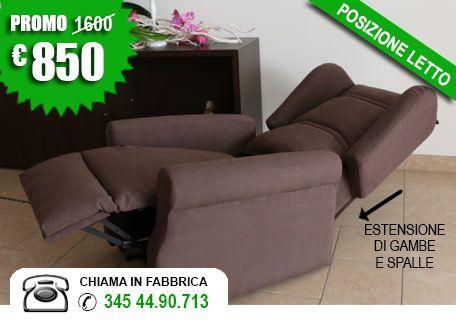 Poltrone relax Brescia, prezzi in offerta -50% (Made in Italy)