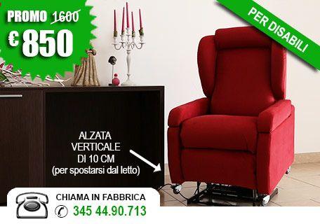 Poltrone Relax Pistoia.Poltrone Per Disabili Modello Agata
