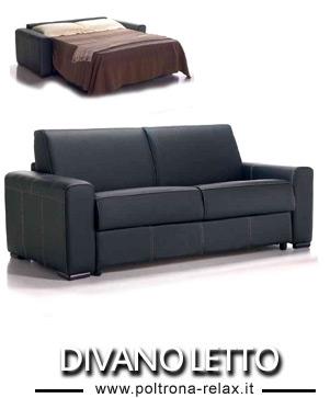 Divano letto in pelle prezzi di fabbrica - Subito it divano letto ...